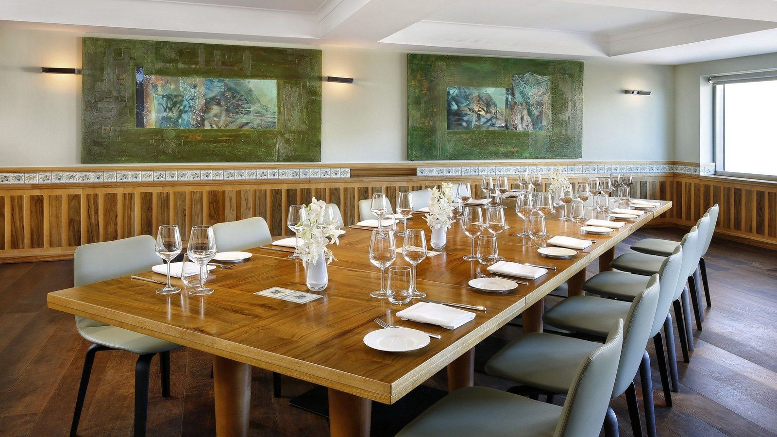 olive leaf restaurant private dining