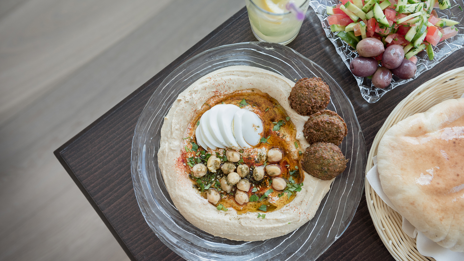 Hummus delight in Tel Aviv